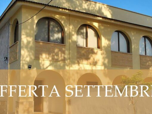 Offerta Early Booking Settembre 2021